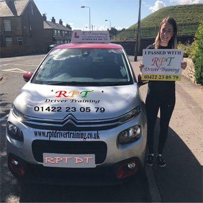 RPT Driver Training Driving Lessons Halifax Kelly Fisher