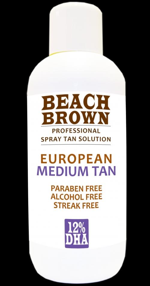 Beach Brown European Tan 12%