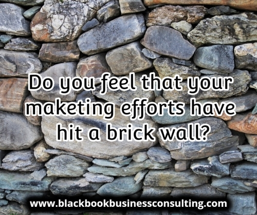 Have your marketing efforts hit a Brick Wall?