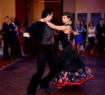 Ballroom and Latin Dance performances - Andrew Cuerden and Viktoriya Wilton
