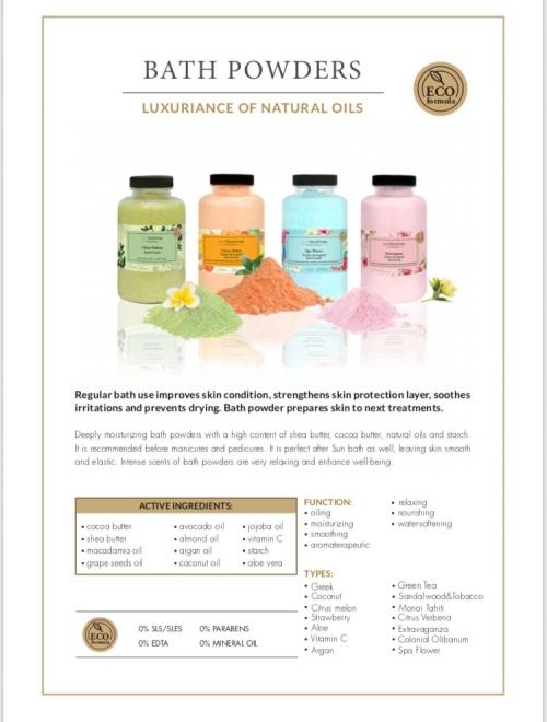 Bath Powders