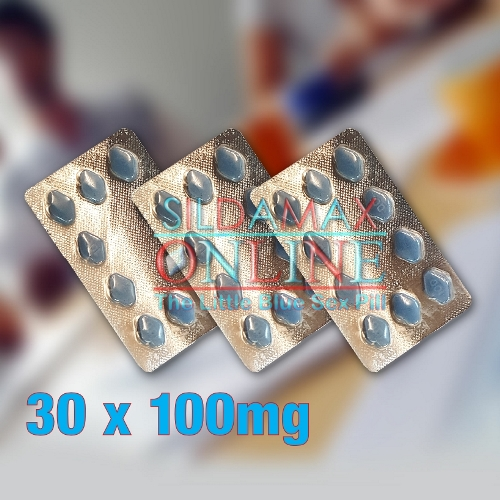 30 Sildamax Tablets