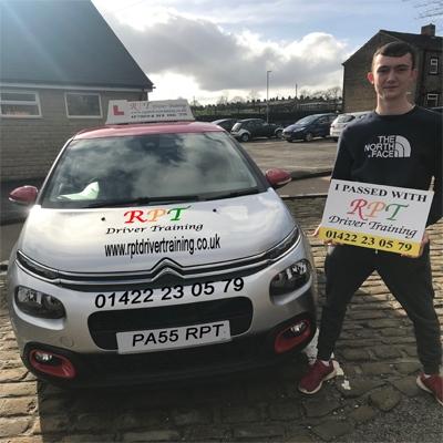 RPT Driver Training Driving Lessons Halifax Jack Graham