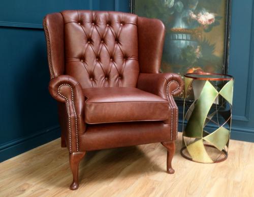 Regency Flat Wing Chair