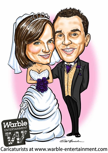 Caricaturists, Caricaturist hire from UK entertainers agency
