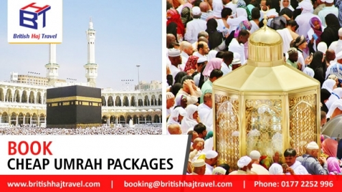 Book Cheap Umrah Packages