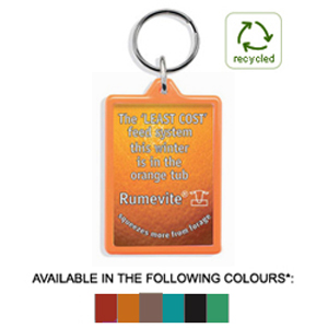 UK made eco friendly keyrings