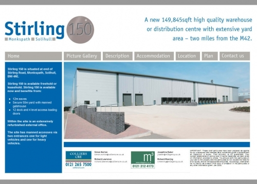 Stirling150 Homepage