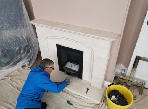 Gas Fire Service and Smoke Flue Test
