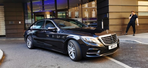 Gatwick to Heathrow with Mercedes S-Class