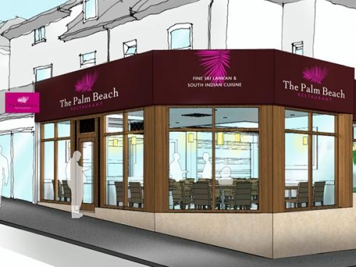 Restaurant branding and graphics