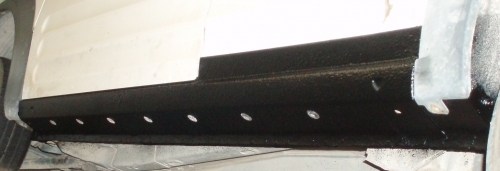 Sill repaired
