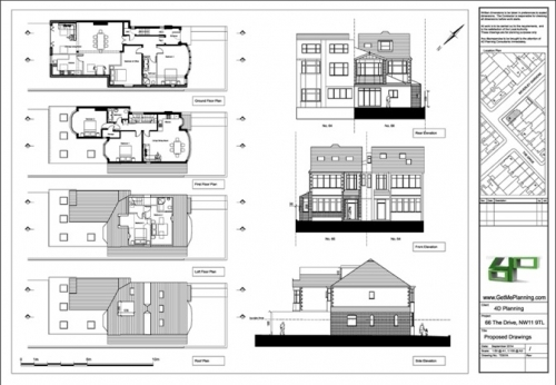 Conversion Of House To Flats Loft Conversion Side Rear Extension 2