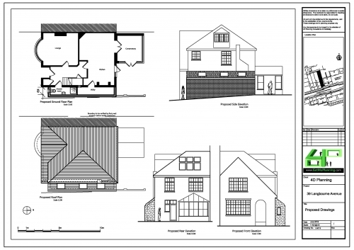 39 Langbourne Avenue Drawings