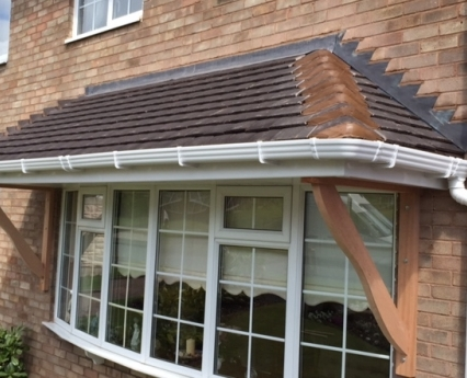 3 Tiled Canopy Roof