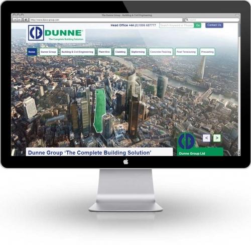 Responsive Design Website Dunne Group