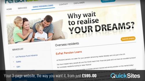 QuickSites Standard Website