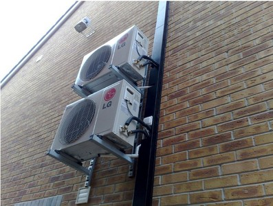 LG mounted outdoor units