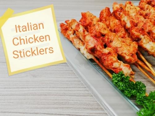 Italian Style Chicken Skewers
