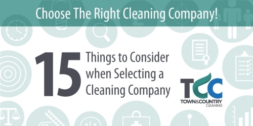 Free Report - 15 Things to Consider when Selecting a Cleaning Company