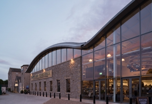 Holmes Mill - renovation of redundant mill (restaurant, bistro, beer hall, food court, gym, Everyman Cinema)