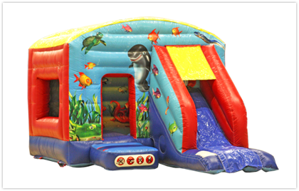 Undersea Slide 12x18 Bouncy Castle