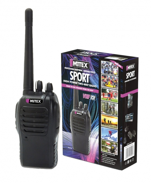 MITEX SPORT VHF TWO WAY RADIO