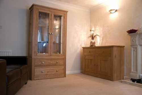 Torino Solid Oak Dining and Living Room Furniture