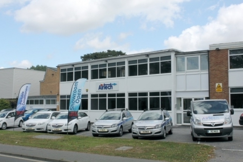 Airtech Air Conditioning Head Office in Sussex for full HVAC Services