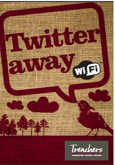 Twitter away WiFi