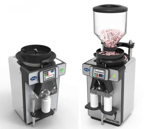 Tablet and capsule counting machines