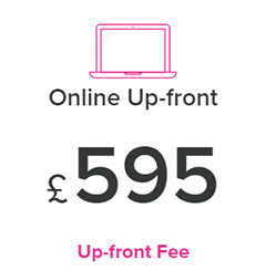 £595 Up-Front Estate Agent Fee