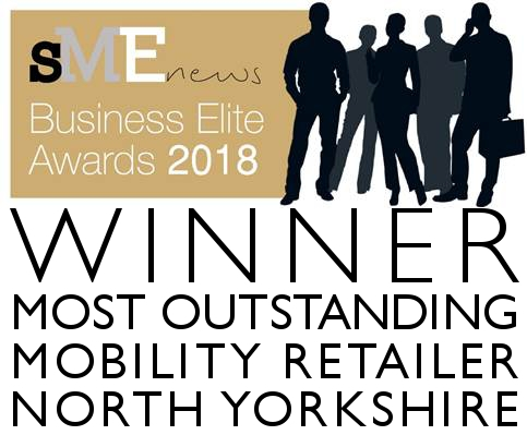 Winner Most Outstanding Mobility Retailer North Yorkshire - SME News