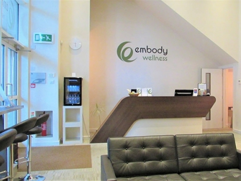 Embody Wellness Reception