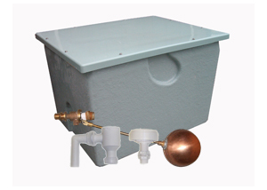 Bylaw 30 Water Tanks - Complete with Inlet, Outlet and Overflow kit - making sure your water tank meet current water regulations