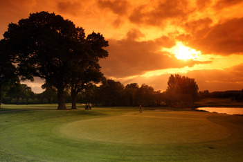 Sunset on The Brabazon
