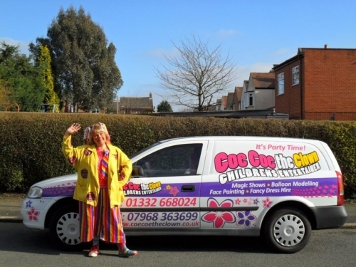 Childrens Entertainer Derby Derbyshire