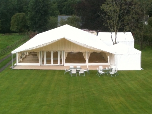 Wedding Marquee Church Brough