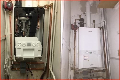 Another combi boiler install