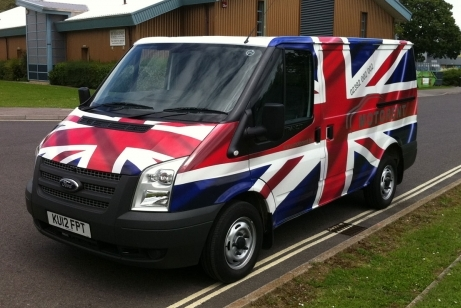 Team GB Union Flag full wrap
