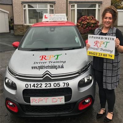 RPT Driver Training - Driving Lessons Halifax - Charlottes Sainsbury