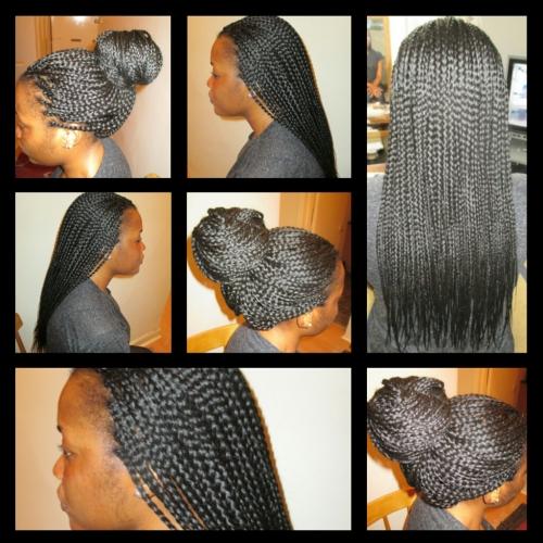 Hair braiding & Extension services