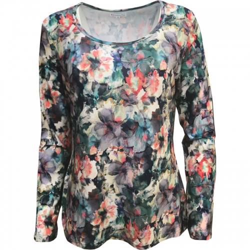 Kelby bouquet jersey top