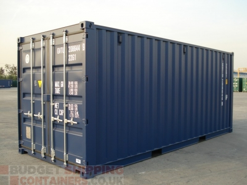 20ft One Trip (new) High Spec Shipping Containers