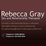 Rebecca Gray Psychosexual & Relationship Therapist
