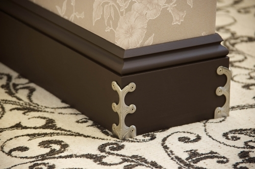 Skirting Skiffers In Satin Nickel available online from Carpetrunners.co.uk