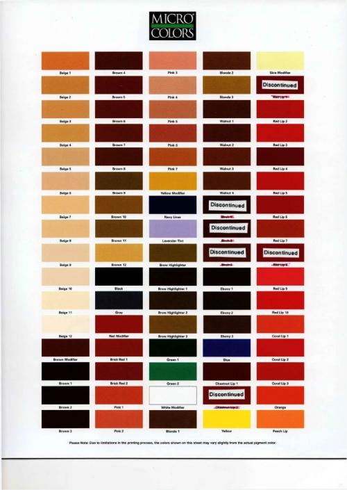 MicroColor Pigments