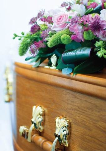 Coffin And Flowers_Kidsgrove