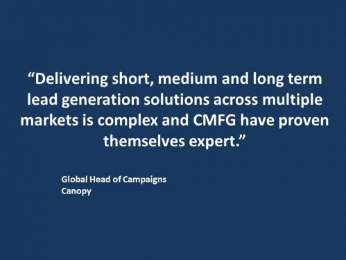 Canopy CMFG Testimonial - Global Head of Campaigns