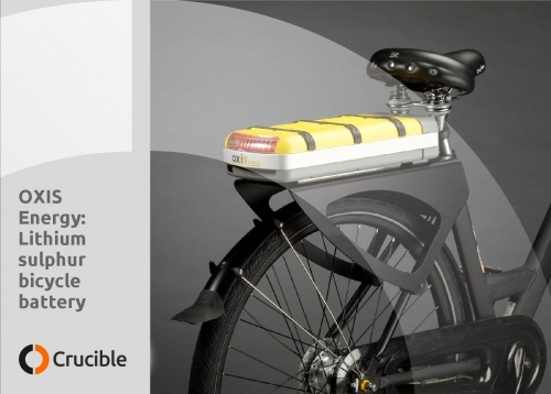 OXIS battery for electric bicycle
